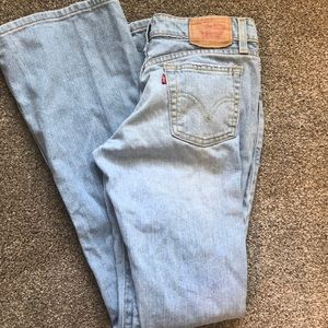 Levi's Super Low Bootcut 518 size 3